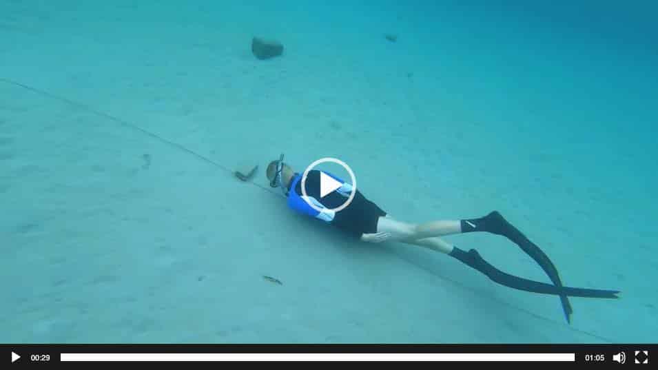 Freedive Dynamic Apnea BF