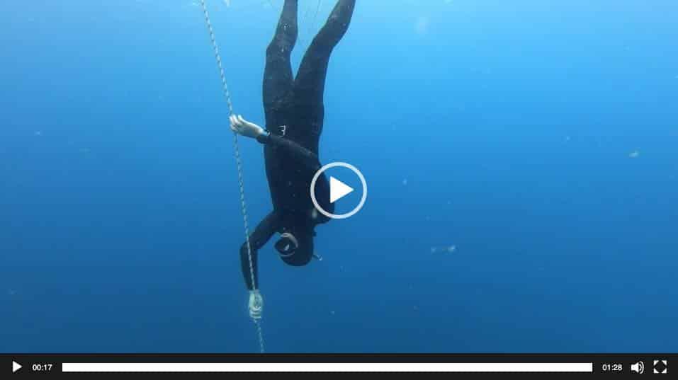 Freedive free Immersion FIM