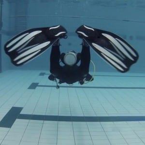 PADI Finkick Diver