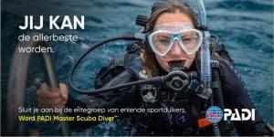 PADI Master Scuba Diver